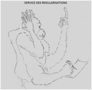 service de régularisation